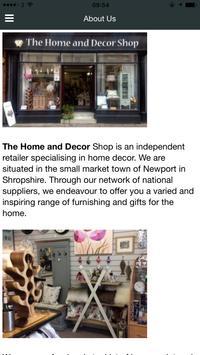 The Home And Decor Shop screenshot 2