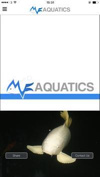 MF Aquatics poster