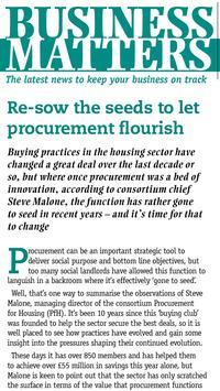 Housing magazine screenshot 2