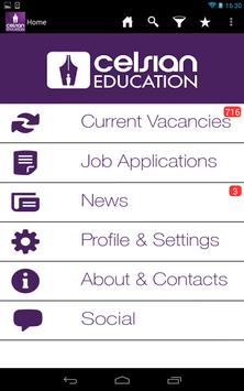 Celsian Education Jobs poster