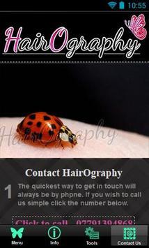 HairOgraphy screenshot 2