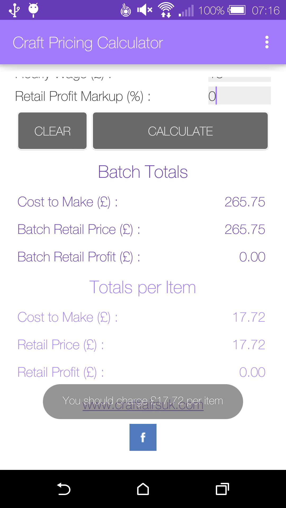 Craft Pricing Calculator for Android - APK Download
