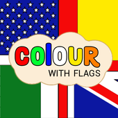 Colour with Flags icon