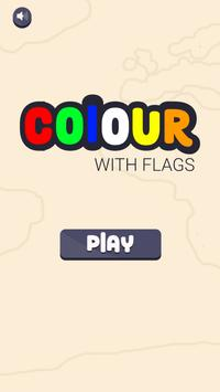 Colour with Flags poster