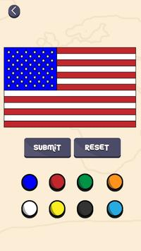 Colour with Flags apk screenshot