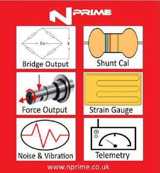 Nprime  - Strain Gauge & NVH Calculator poster