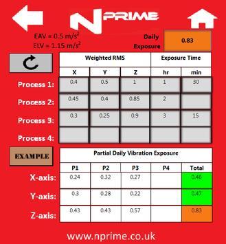 Nprime  - Strain Gauge & NVH Calculator apk screenshot