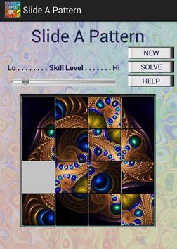 Slide A Pattern poster