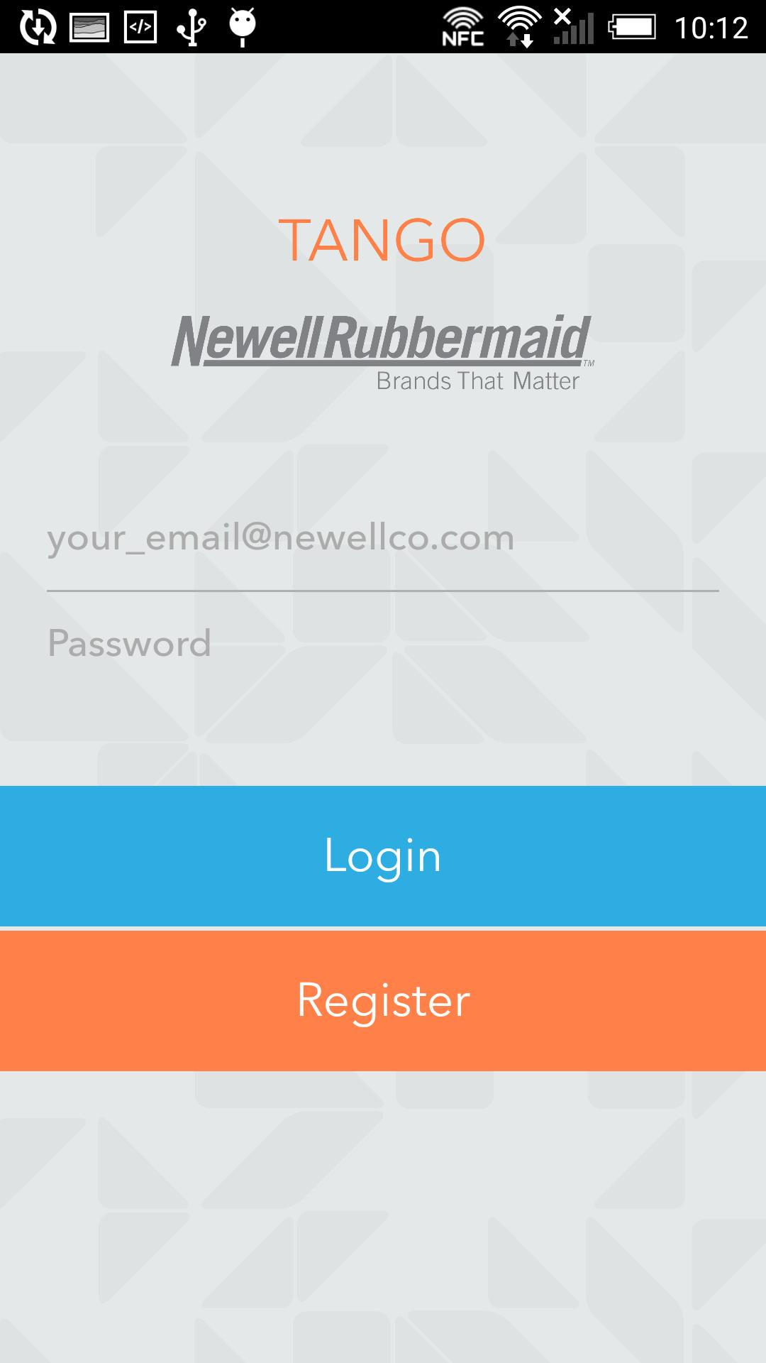 Newell Rubbermaid Tango for Android - APK Download