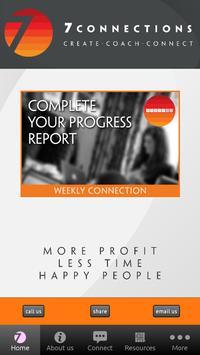 7connections Coaching App poster