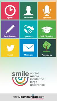 SMiLE London Event App poster