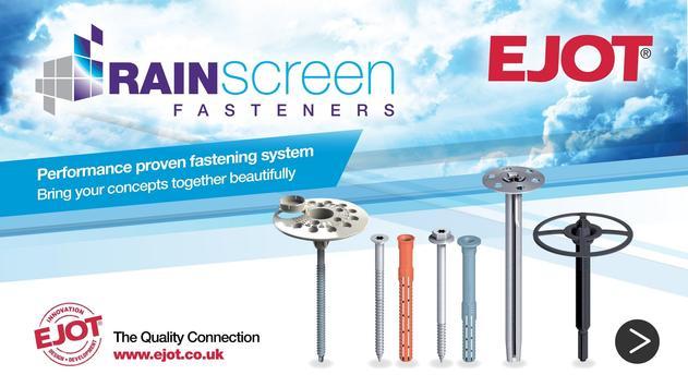 EJOT Rainscreen Fasteners poster
