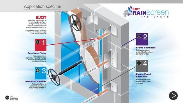 EJOT Rainscreen Fasteners apk screenshot