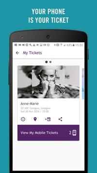TicketWeb UK - Get tickets! screenshot 2