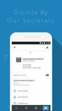 Business Card Scanner - Saciva screenshot 1