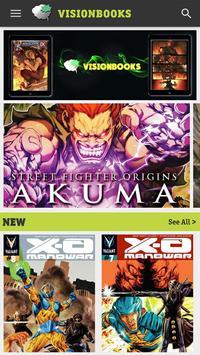 Visionbooks Comic Reader poster