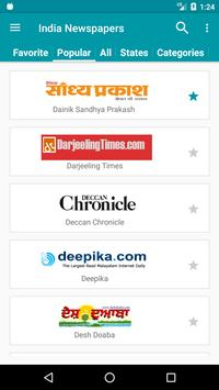 India Newspapers apk screenshot