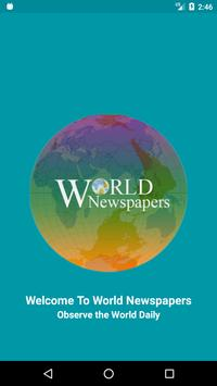 World Newspapers poster