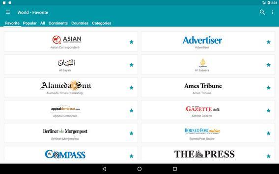 World Newspapers apk screenshot