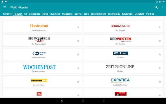 World Newspapers screenshot 12