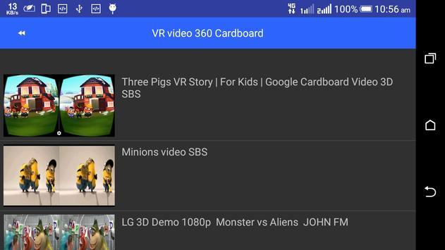 VR Videos 3D 360° Videos App screenshot 4