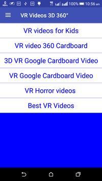 VR Videos 3D 360° Videos App poster