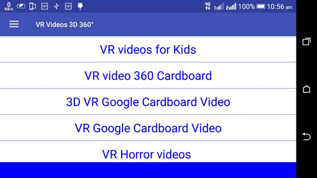 VR Videos 3D 360° Videos App screenshot 12