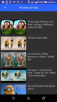 VR Videos 3D 360° Videos App screenshot 1