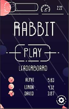 Rabbit - typing mania apk screenshot