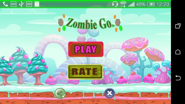 Adventure Zombie Jump Game poster