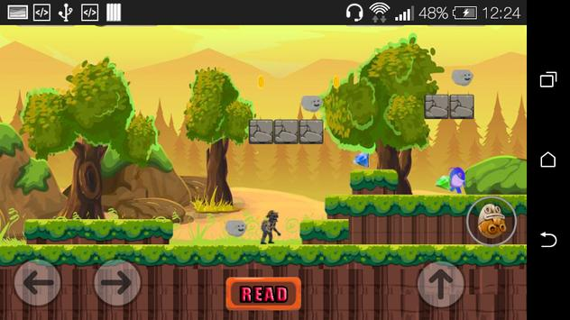 Adventure Zombie Jump Game screenshot 1