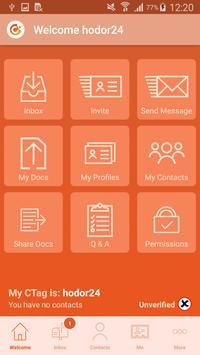 Contactable App apk screenshot