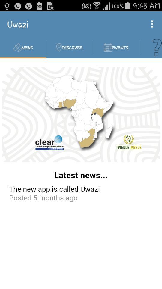 Uwazi poster