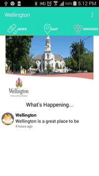 Wellington Tourism apk screenshot