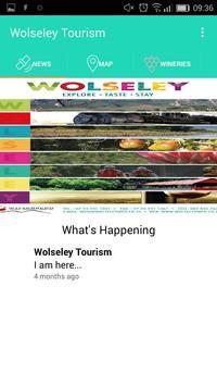 Wolseley Tourism poster