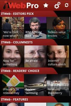 ITWeb PRO poster