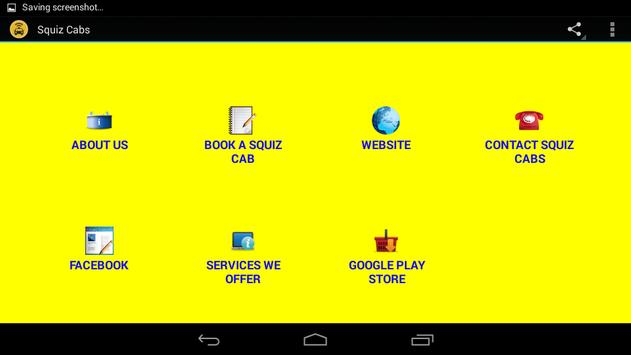 Squiz Cabs apk screenshot
