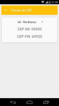 Calcula Frete SEDEX PAC screenshot 4