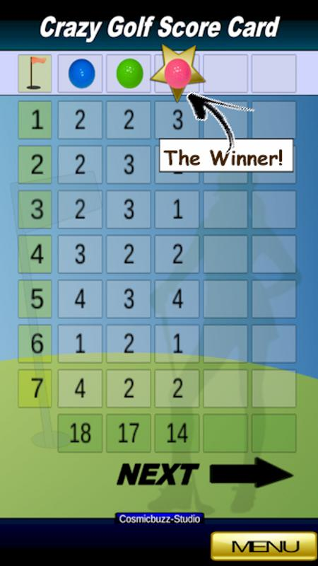 Mini Golf Scorecard For Android Apk Download
