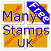 Many Stamps UK 2018 icon
