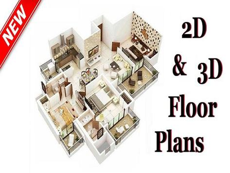 2D & 3D Floor Plans screenshot 2