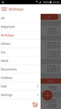 Countdown Calendar screenshot 1