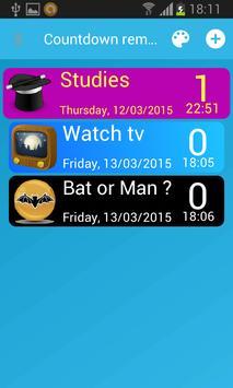 Сountdown timer screenshot 2