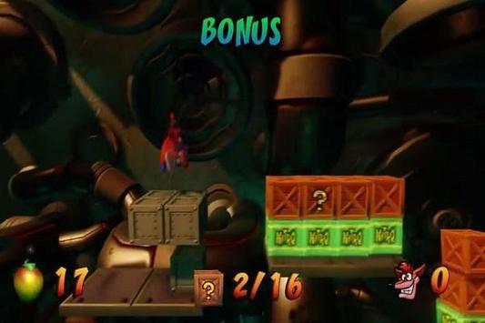 Hint Crash Bandicoot apk screenshot