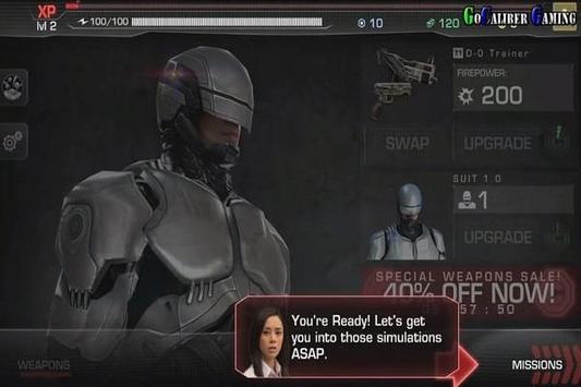 Trick Robocop apk screenshot