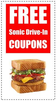 Coupons for Sonic Drive-In poster