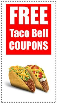 Coupons for Taco Bell poster