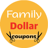 free coupons for family dollar icon