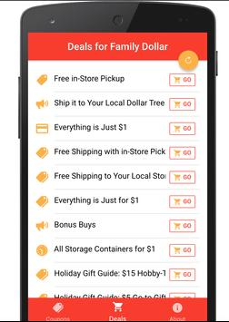 free coupons for family dollar screenshot 1