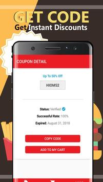Coupons for Jimmy John's Sandwiches screenshot 2